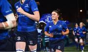 9 December 2017; Aimee Clarke of Leinster runs out ahead of the Women's Interprovincial Series match between Leinster and Connacht at Donnybrook Stadium in Dublin. Photo by David Fitzgerald/Sportsfile