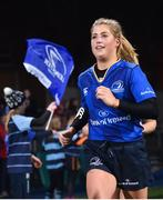 9 December 2017; Alisa Hughes of Leinster runs out ahead of the Women's Interprovincial Series match between Leinster and Connacht at Donnybrook Stadium in Dublin. Photo by David Fitzgerald/Sportsfile