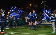 9 December 2017; Paula Fitzpatrick of Leinster runs out ahead of the Women's Interprovincial Series match between Leinster and Connacht at Donnybrook Stadium in Dublin. Photo by David Fitzgerald/Sportsfile