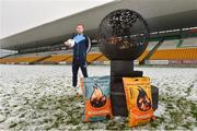 12 December 2017; Jonny Cooper of Dublin at the launch of the Bord na Móna Leinster GAA series at Bord na Móna O'Connor Park, Tullamore, Co Offaly. The Bord na Móna Leinster Series comprises of the Bord na Móna O'Byrne Cup, Bord na Móna Walsh Cup and the Bord na Móna Kehoe Cup. Photo by Matt Browne/Sportsfile