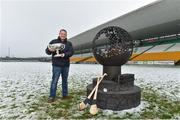 12 December 2017; Wexford manager Davy Fitzgerald at the launch of the Bord na Móna Leinster GAA series at Bord na Móna O'Connor Park, Tullamore, Co Offaly. The Bord na Móna Leinster Series comprises of the Bord na Móna O'Byrne Cup, Bord na Móna Walsh Cup and the Bord na Móna Kehoe Cup. Photo by Matt Browne/Sportsfile