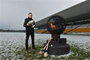 12 December 2017; Kilkenny selector Derek Lyng at the launch of the Bord na Móna Leinster GAA series at Bord na Móna O'Connor Park, Tullamore, Co Offaly. The Bord na Móna Leinster Series comprises of the Bord na Móna O'Byrne Cup, Bord na Móna Walsh Cup and the Bord na Móna Kehoe Cup. Photo by Matt Browne/Sportsfile