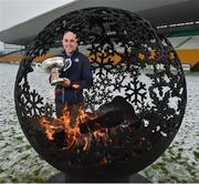 12 December 2017; Dublin selector and coach Anthony Cunningham at the launch of the Bord na Móna Leinster GAA series at Bord na Móna O'Connor Park, Tullamore, Co Offaly. The Bord na Móna Leinster Series comprises of the Bord na Móna O'Byrne Cup, Bord na Móna Walsh Cup and the Bord na Móna Kehoe Cup. Photo by Matt Browne/Sportsfile