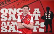12 December 2017; James Doona poses for a portrait after signing for St Patrick's Athletic's at Richmond Park in Inchicore. Photo by Seb Daly/Sportsfile