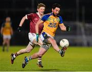 11 November 2017; Michael Hegarty of Kilcar in action against Ronan Bradley of Slaughtneil during the AIB Ulster GAA Football Senior Club Championship Semi-Final match between Kilcar and Slaughtneil at Healy Park in Omagh, Tyrone. Photo by Oliver McVeigh/Sportsfile