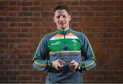 14 December 2017; Conor McManus was presented by EirGrid with the Irish International Rules Player of the Series trophy today. Conor was selected by the public as the Player of the Series for his performances during the teams trip to Australia. As part of the prize, EirGrid donated a cheque for €1,000 to Conor's club, Clontibret O'Neills. Photo by Cody Glenn/Sportsfile