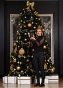 15 December 2017; Fiona McHale of Carnacon with her Player of the Month Award for December, at The Croke Park Hotel in Dublin. Photo by Matt Browne/Sportsfile