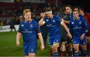 26 December 2017; Leinster's James Tracy following the Guinness PRO14 Round 11 match between Munster and Leinster at Thomond Park in Limerick. Photo by Ramsey Cardy/Sportsfile