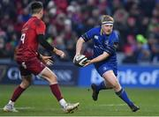 26 December 2017; James Tracy of Leinster in action against Conor Murray of Munster during the Guinness PRO14 Round 11 match between Munster and Leinster at Thomond Park in Limerick. Photo by Brendan Moran/Sportsfile