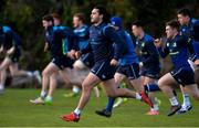 28 December 2017; James Lowe during Leinster rugby squad training at UCD in Dublin. Photo by Piaras Ó Mídheach/Sportsfile