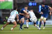 1 January 2018; Noel Reid of Leinster is tackled by Tom Farrell of Connacht during the Guinness PRO14 Round 12 match between Leinster and Connacht at the RDS Arena in Dublin. Photo by Eóin Noonan/Sportsfile