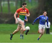 30 December 2017; Brendan Murphy of Carlow during the Bord na Móna O'Byrne Cup Group 3 First Round match between Wicklow and Carlow at Bray Emmets GAA Club, Bray in Wicklow. Photo by Matt Browne/Sportsfile