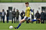 30 December 2017; Mark Jackson of Wicklow during the Bord na Móna O'Byrne Cup Group 3 First Round match between Wicklow and Carlow at Bray Emmets GAA Club, Bray in Wicklow. Photo by Matt Browne/Sportsfile