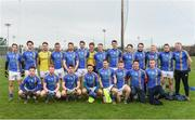 30 December 2017; Wicklow team before the Bord na Móna O'Byrne Cup Group 3 First Round match between Wicklow and Carlow at Bray Emmets GAA Club, Bray in Wicklow. Photo by Matt Browne/Sportsfile