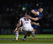 6 January 2018; Robbie Henshaw of Leinster is tackled by Darren Cave of Ulster during the Guinness PRO14 Round 13 match between Leinster and Ulster at the RDS Arena in Dublin. Photo by Seb Daly/Sportsfile