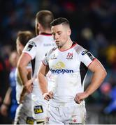 6 January 2018; John Cooney of Ulster following his side's defeat during the Guinness PRO14 Round 13 match between Leinster and Ulster at the RDS Arena in Dublin. Photo by Seb Daly/Sportsfile