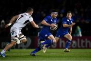 6 January 2018; Fergus McFadden of Leinster evades Sean Reidy of Ulster during the Guinness PRO14 Round 13 match between Leinster and Ulster at the RDS Arena in Dublin. Photo by Seb Daly/Sportsfile