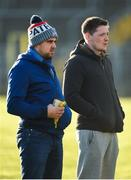 7 January 2018; Monaghan's  Conor McManus and Drew Wylie ahead of the Bank of Ireland Dr. McKenna Cup Section C Round 2 match between Monaghan and Donegal at St Tiernach's Park in Monaghan. Photo by Philip Fitzpatrick/Sportsfile