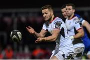 6 January 2018; Johnny McPhillips of Ulster during the Guinness PRO14 Round 13 match between Leinster and Ulster at the RDS Arena in Dublin. Photo by Ramsey Cardy/Sportsfile