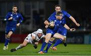 6 January 2018; Sean Cronin of Leinster is tackled by Rory Best of Ulster during the Guinness PRO14 Round 13 match between Leinster and Ulster at the RDS Arena in Dublin. Photo by Ramsey Cardy/Sportsfile