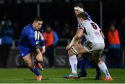 6 January 2018; Noel Reid of Leinster in action against Matty Rea of Ulster during the Guinness PRO14 Round 13 match between Leinster and Ulster at the RDS Arena in Dublin. Photo by Ramsey Cardy/Sportsfile
