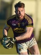 7 January 2018; Barry O'Gorman of Wexford during the Bord na Mona O'Byrne Cup Group 1 Third Round match between Wexford and Dublin at St. Patricks Park in Wexford. Photo by Matt Browne/Sportsfile