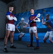 9 January 2018; UL Hurlers, Kyle Hayes, left, also of Limerick, and John McGrath, also of Tipperary, teamed up with Electric Ireland today to launch its First Class Rivals campaign in support of Electric Ireland's sponsorship of the Higher Education Championships. The campaign celebrates the unique trait of these historic GAA competitions that sees team composition, unlike in club and county Championships, determined by place of learning not place of birth allowing traditional rivals to form the most unexpected of alliances. Photo by Ramsey Cardy/Sportsfile