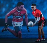 9 January 2018; UCC and Cork footballer Sean Powter teamed up with Electric Ireland today to launch its First Class Rivals campaign in support of Electric Ireland's sponsorship of the Higher Education Championships. The campaign celebrates the unique trait of these historic GAA competitions that sees team composition, unlike in club and county Championships, determined by place of learning not place of birth allowing traditional rivals to form the most unexpected of alliances. Photo by Ramsey Cardy/Sportsfile