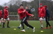 9 January 2018; Conor Murray during Munster Rugby squad training at the University of Limerick in Limerick. Photo by Diarmuid Greene/Sportsfile