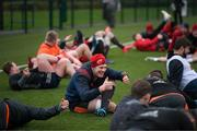 9 January 2018; Robin Copeland during Munster Rugby squad training at the University of Limerick in Limerick. Photo by Diarmuid Greene/Sportsfile