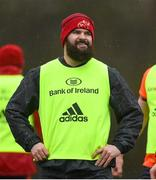 9 January 2018; Kevin O'Byrne during Munster Rugby squad training at the University of Limerick in Limerick. Photo by Diarmuid Greene/Sportsfile