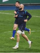 9 January 2018; Scott Fardy during Leinster Rugby squad training at Donnybrook Stadium in Dublin. Photo by Brendan Moran/Sportsfile