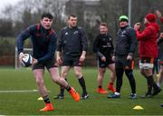 9 January 2018; Calvin Nash during Munster Rugby squad training at the University of Limerick in Limerick. Photo by Diarmuid Greene/Sportsfile