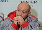 9 January 2018; Rory Best during an Ulster Rugby press conference at Kingspan Stadium in Belfast. Photo by Oliver McVeigh/Sportsfile