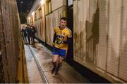 10 January 2018; Roscommon captain Diarmuid Murtagh leads his team-mates to the pitch for the second half during the Connacht FBD League Round 3 match between Roscommon and Sligo at St. Brigid's GAA Club, Kiltoom, in Roscommon. Photo by Piaras Ó Mídheach/Sportsfile