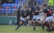 11 January 2018; Rioghan McCarthy of Mount Temple in action against The High School during the Bank of Ireland Leinster Schools Vinnie Murray Cup Round 1 match between The High School and Mount Temple at Donnybrook Stadium in Dublin. Photo by Matt Browne/Sportsfile