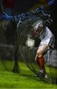 12 January 2018; Mayo goalkeeper David Clarke retrieves a ball from behind the goal during the Connacht FBD League Round 2 refixture match between Mayo and Galway at Elverys MacHale Park in Castlebar, Mayo. Photo by Piaras Ó Mídheach/Sportsfile