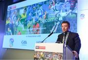 13 January 2018; Peter Horgan, GAA Education Officer, during day two of the GAA Games Development Conference at Croke Park in Dublin. Photo by Stephen McCarthy/Sportsfile