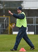 14 January 2018; Offaly manager Stephen Wallace ahead of the Bord na Mona O'Byrne Cup semi-final match between Westmeath and Offaly at Cusack Park, in Mullingar, Westmeath. Photo by Sam Barnes/Sportsfile