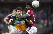 14 January 2018; Bernard Allen of Offaly in action against Boidu Sayeh of Westmeath during the Bord na Mona O'Byrne Cup semi-final match between Westmeath and Offaly at Cusack Park, in Mullingar, Westmeath. Photo by Sam Barnes/Sportsfile