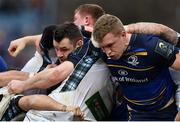 14 January 2018; Cian Healy of Leinster during the European Rugby Champions Cup Pool 3 Round 5 match between Leinster and Glasgow Warriors at the RDS Arena in Dublin. Photo by Ramsey Cardy/Sportsfile