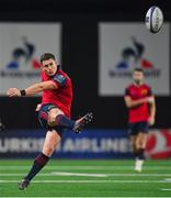 14 January 2018; Ian Keatley of Munster kicks a penalty during the European Rugby Champions Cup Pool 4 Round 5 match between Racing 92 and Munster at the U Arena in Paris, France. Photo by Brendan Moran/Sportsfile