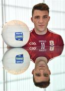16 January 2018; Damien Comer of Galway in attendance at the 2018 Allianz Football League Launch at Dublin Port Authority in Dublin. Dublin face Kildare under lights in Croke Park in the opening round on January 27th at 7pm, while Allianz Football League Division 1 holders Kerry host Donegal at Fitzgerald Stadium, Killarney on Sunday January 28th and Galway take on Tyrone at Pearse Stadium in Galway. For more, see: www.gaa.ie    Photo by Brendan Moran/Sportsfile