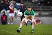 14 January 2018; Sean Pender of Offaly during the Bord na Mona O'Byrne Cup semi-final match between Westmeath and Offaly at Cusack Park, in Mullingar, Westmeath. Photo by Sam Barnes/Sportsfile