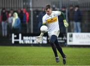 14 January 2018; Paddy Dunican of Offaly during the Bord na Mona O'Byrne Cup semi-final match between Westmeath and Offaly at Cusack Park, in Mullingar, Westmeath. Photo by Sam Barnes/Sportsfile