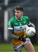 14 January 2018; Cian Donohue of Offaly during the Bord na Mona O'Byrne Cup semi-final match between Westmeath and Offaly at Cusack Park, in Mullingar, Westmeath. Photo by Sam Barnes/Sportsfile