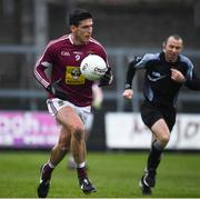 14 January 2018; Denis Corroon of Westmeath during the Bord na Mona O'Byrne Cup semi-final match between Westmeath and Offaly at Cusack Park, in Mullingar, Westmeath. Photo by Sam Barnes/Sportsfile