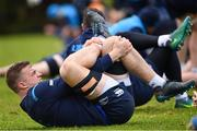16 January 2018; Josh van der Flier during Leinster Rugby squad training at UCD in Dublin. Photo by Ramsey Cardy/Sportsfile