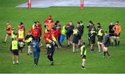 16 January 2018; A general view of Munster Rugby squad training at the University of Limerick in Limerick. Photo by Aaron Greene/Sportsfile
