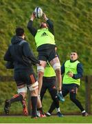 16 January 2018; Jean Kleyn during Munster Rugby squad training at the University of Limerick in Limerick. Photo by Diarmuid Greene/Sportsfile